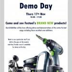 Festool Demo Day