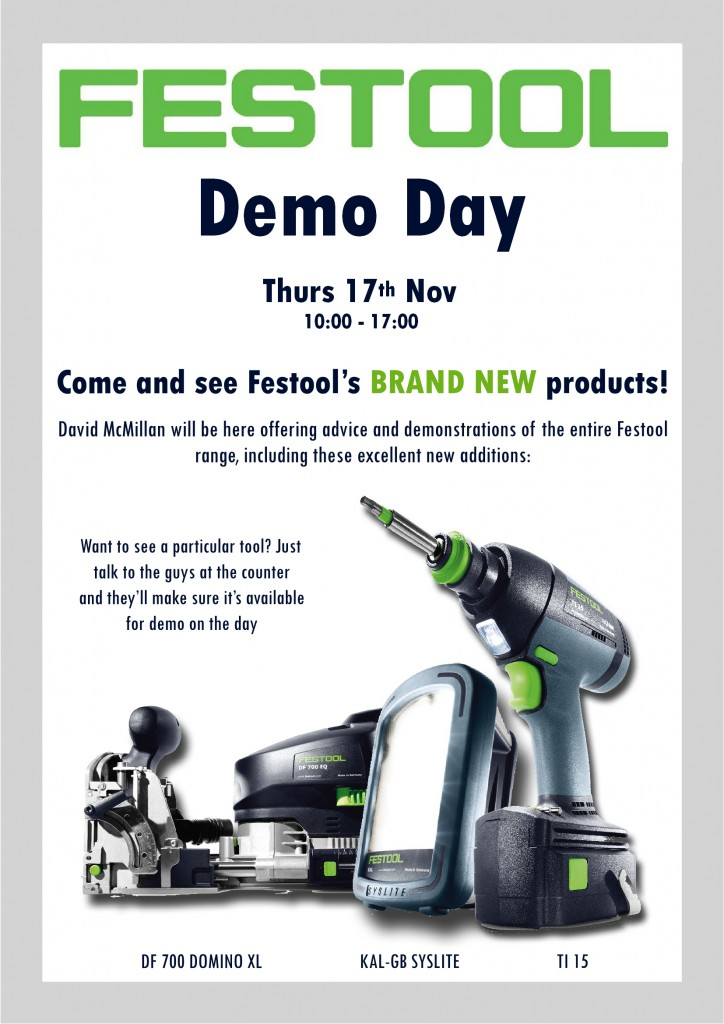 Festool Demo Day