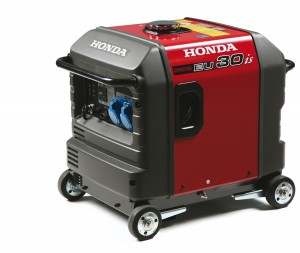 Honda Generator with Wheel Kit