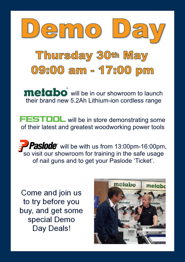 Metabo Festool Demo Day