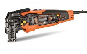 Inside the Fein MultiMaster 350Q