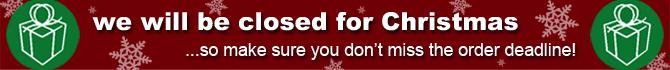 Christmas Closing Period
