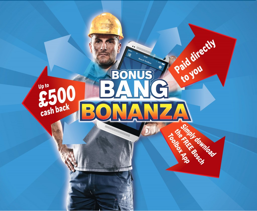 Bosch Bonus Bang promo