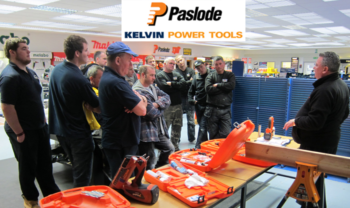 Paslode Training at Kelvin Power Tools, Glasgow