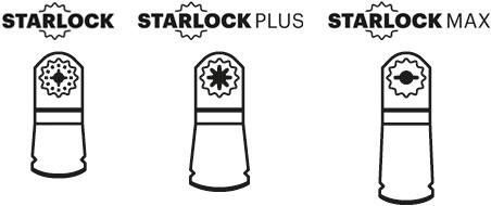 Starlock, Starlock Plus & Starlock Max Multi-Tool Blades