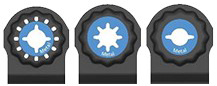 Bosch Starlock Multi-Tool Blades Design