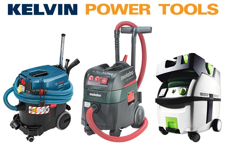 Power Tool Dust Extractors