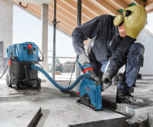 Bosch Power Tool Dust Extraction