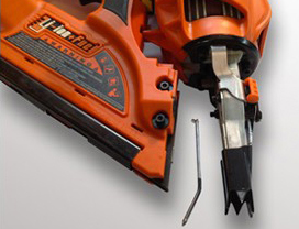 how to clean a Paslode nail gun