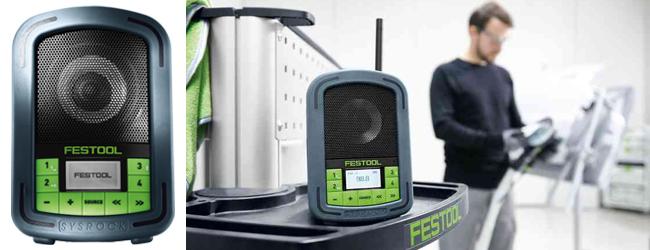 Festool Sysrock BR 10 Site Radio