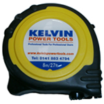 Kelvin Power Tools 8m Measuring Tape