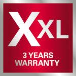 Metabo XXL Warranty