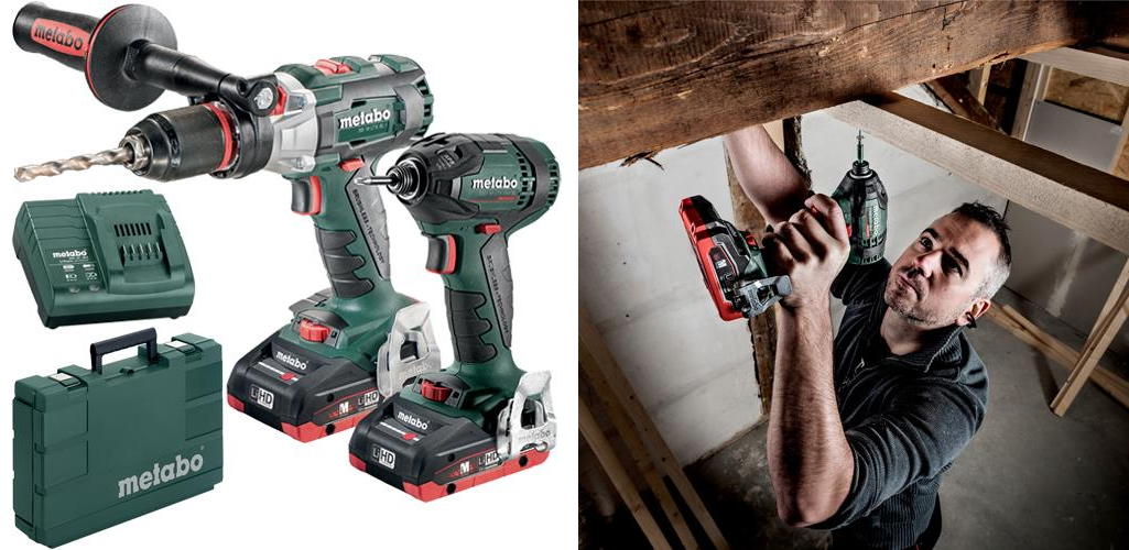Metabo Combi Drill & Impact Driver Set