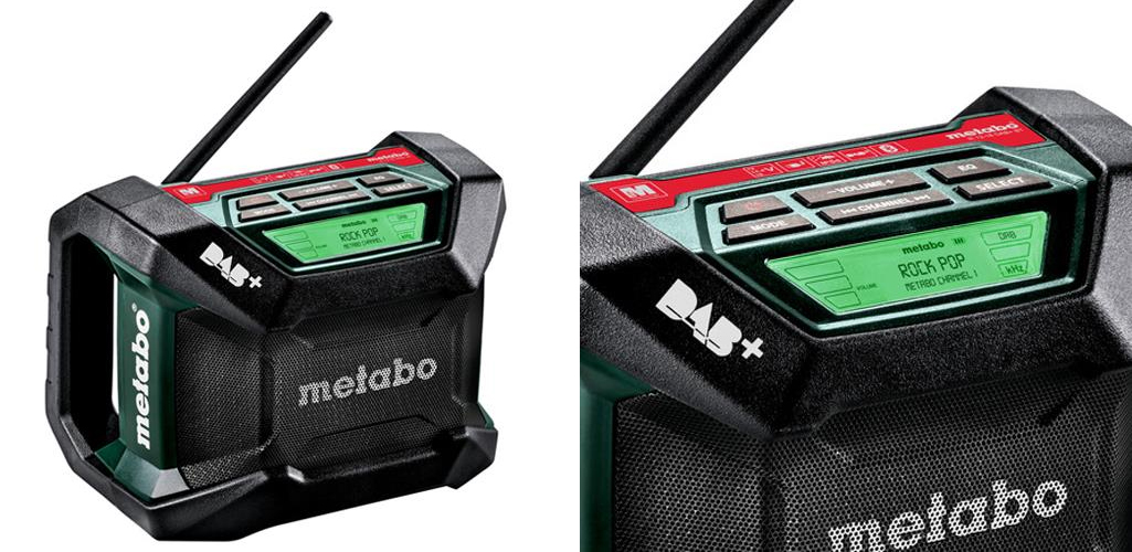 Metabo R 12-18 DAB+ BT Digital Site Radio