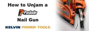 How to unjam a paslode nail gun