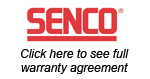 senco warranty statement