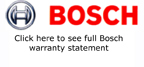 Bosch Warranty Statement