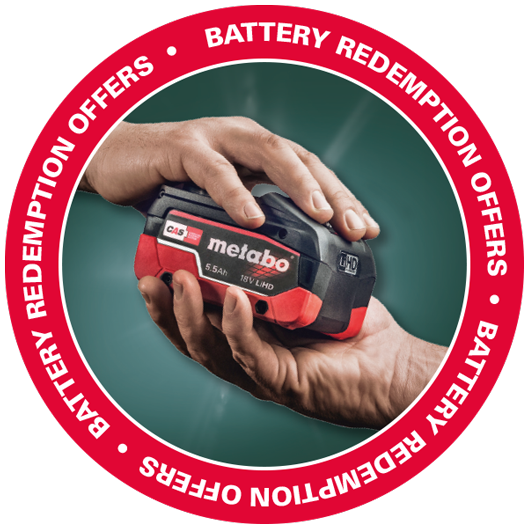 Metabo Battery Offer