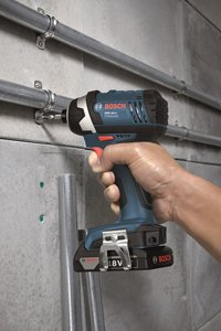 Bosch Impact driver in action