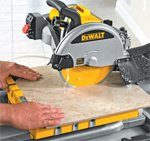 DeWalt Wet Tile Saws