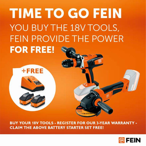 Fein Free Battery Set