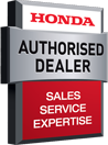 We are a Honda Authorised Supplier