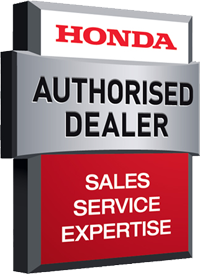 We're an Authorised Honda Power Dealer