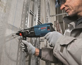 Bosch SDS Plus Hammer Drill GBH2-28 in action