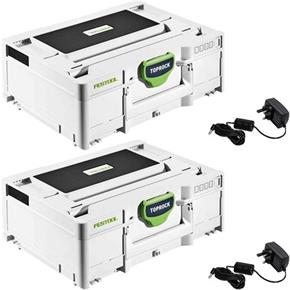 Festool TOPROCK Bluetooth Speaker Systainer TWIN PACK
