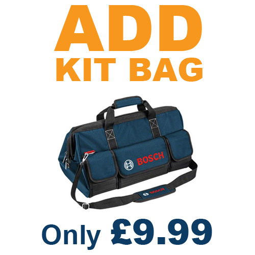 Add a Kit Bag for *ONLY £11.99*
