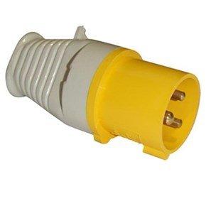 110v 16A 3-Pin Plug (Yellow)