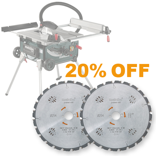 Metabo TS254 BUNDLE DEAL