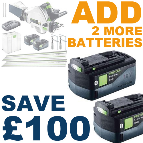 ADD 2 more batteries, SAVE £100!