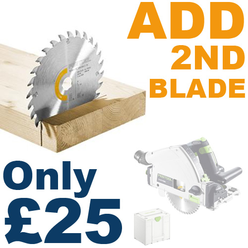ADD 2nd blade for only £25