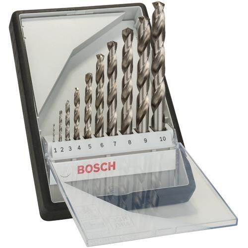 Bosch HSS-G Drill Bit Set (10pcs)