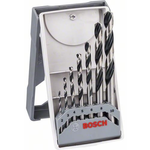 Bosch HSS PointTeQ Drill Bit Set for Metal (7pcs)