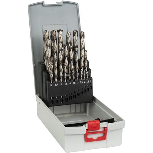 BoschHSS-G Drill Bit Set for Metal (25pcs)