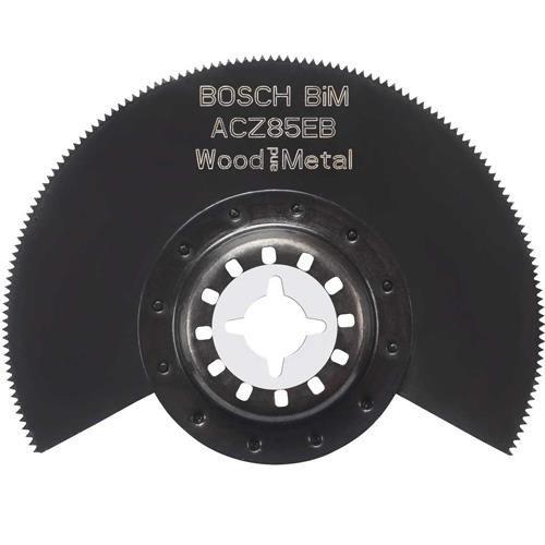 bosch acz85eb bim 85mm segment multi tool blade 2 608 661. Black Bedroom Furniture Sets. Home Design Ideas