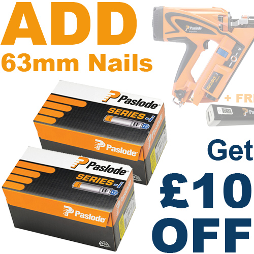 ADD 63mm Nails, Save £10!