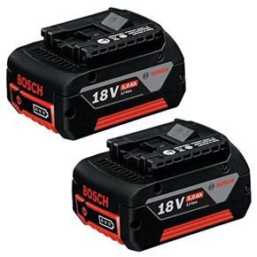 Bosch 18V 5Ah CoolPack Li-ion Battery (Twin Pack)