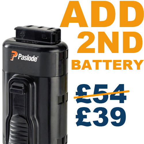 ADD 2nd Battery for £39