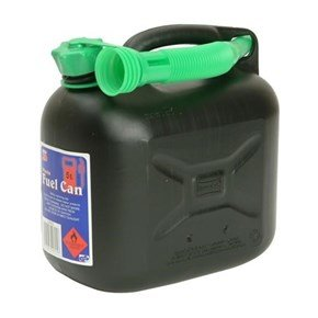 5 Litre Black Petrol Can