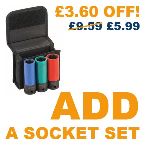 *£3.60 OFF!* - Add a Socket Set for £5.99