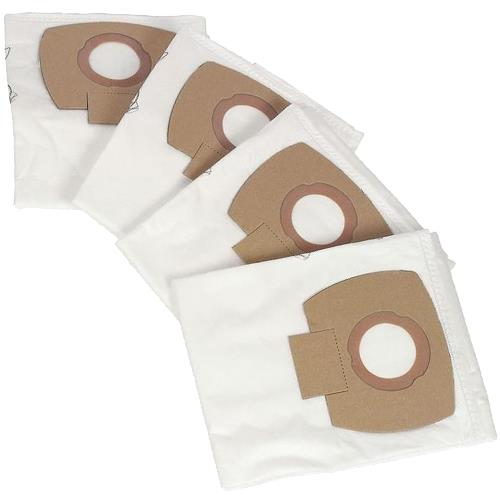 Nilfisk Alto Fleece Dust Bags for Aero Extractors/Vacs (4pk)