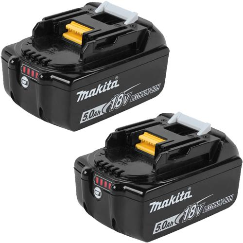 Makita 18V 5Ah Li-ion Battery (Twin Pack)