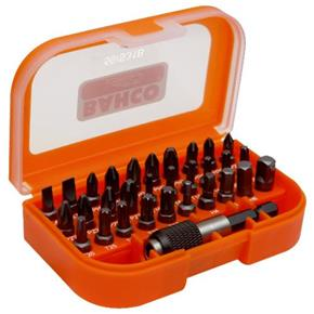 "Bahco Screwdriver Bit Set (31pcs) 1/4"" Drive"
