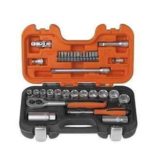 Bahco S330 1/4 in + 3/8in Socket Set (34pcs)