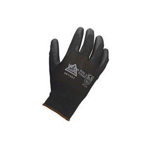 Black PU Coated Gloves (12pk)