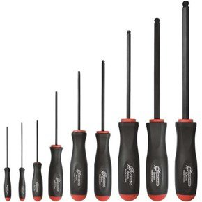 Bondhus 9pc Ball End Screwdriver Set 1.5-10mm