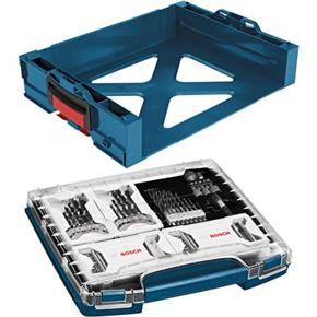 Bosch 117pc i-Boxx Accessory Set with i-Rack